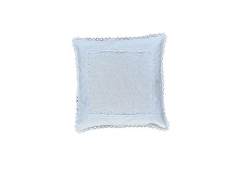 Kissenhülle | 100% Baumwolle | Weiss | 50cm