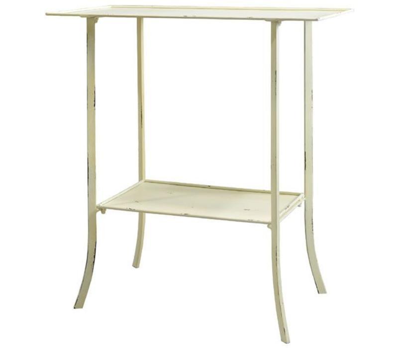 Wandtisch | Eckig | Shabby Chic | Metall