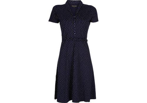 King Louie Kleid | Emmy Dress Little Dots | Nuit Blue