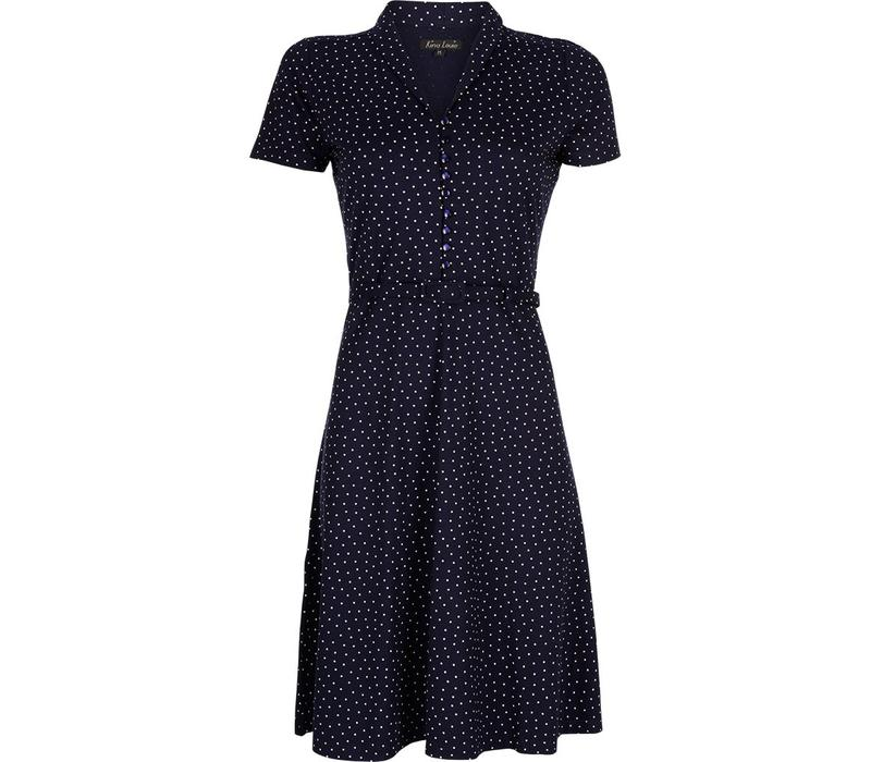 Kleid | Emmy Dress Little Dots | Nuit Blue