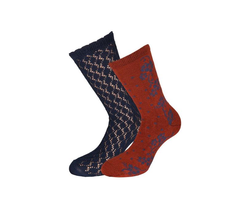 Socken 2 Paar | Socks 2-Pack Dolly | Dark Navy