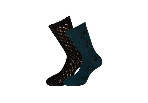 King Louie Socken 2 Paar | Socks 2-Pack Dolly | Black