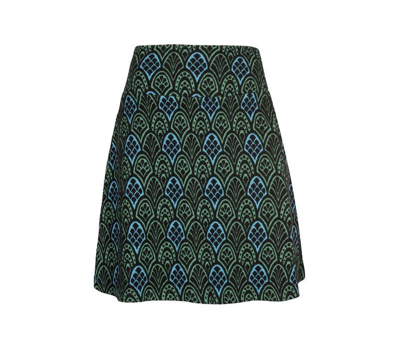 Rock   Border Skirt Nona   Black