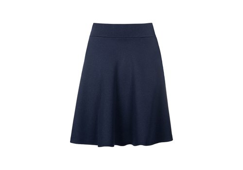 King Louie Rock | Sofia Skirt Milano Crepe | Dark Navy