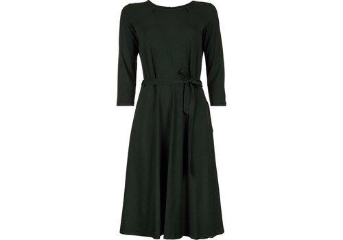 King Louie Kleid | Helena Dress Fine Stripe | Sycamore Green
