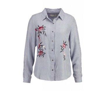 Cream Clothing Bluse | Valerie Blouse | Indigo blue