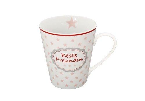 Krasilnikoff Tasse | Beste Freundin