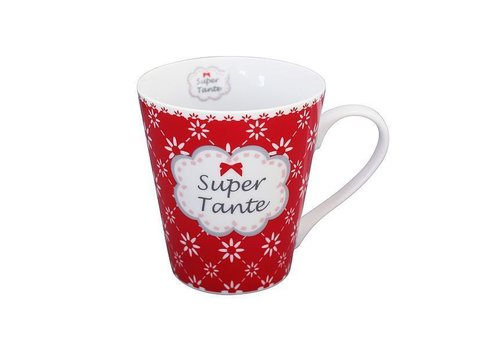 Krasilnikoff Tasse | Super Tante