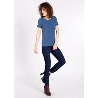 Shirt | logo round neck | blue monday