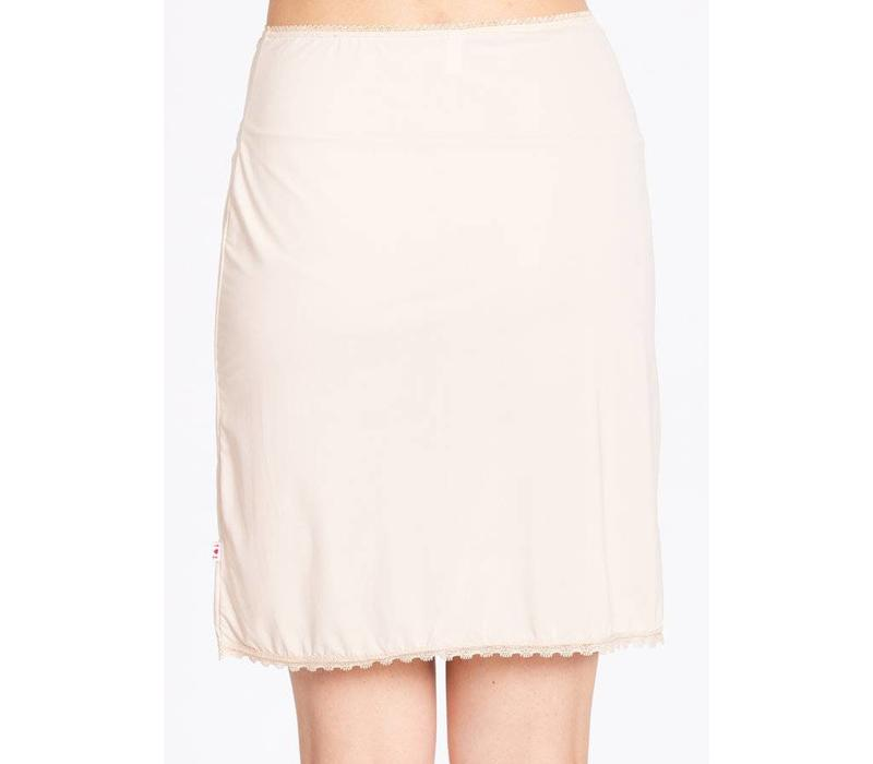 Unterrock | logo under skirt | underdress white