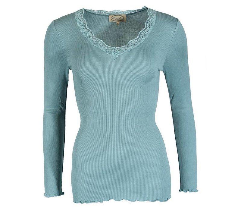 Basic Top   Kirsten   turquoise T