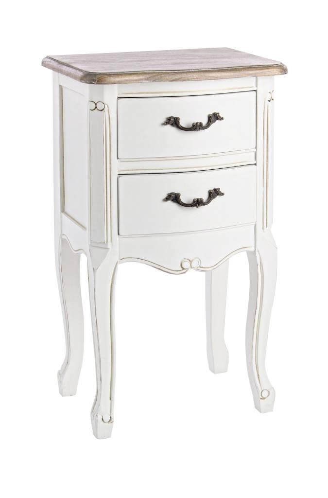 nachttische landhausstil shabby chic vintage stil. Black Bedroom Furniture Sets. Home Design Ideas