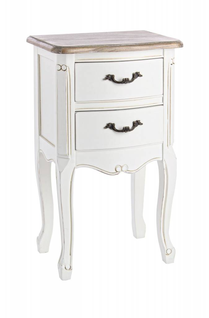 bizzotto nachttisch justine shabby chic vintage enchant concept store. Black Bedroom Furniture Sets. Home Design Ideas