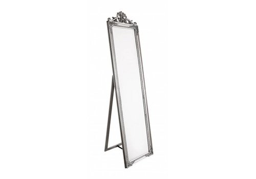 Standspiegel | Silver | Vintage Stil | 45x180