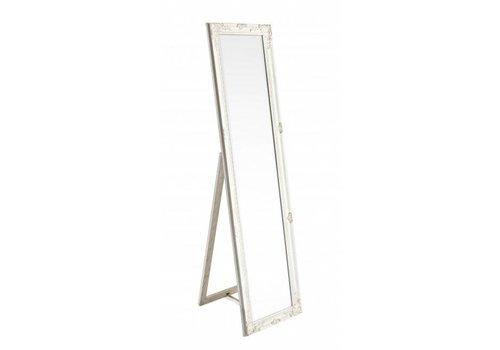 Stehspiegel | Weiss | Shabby chic | 40x160