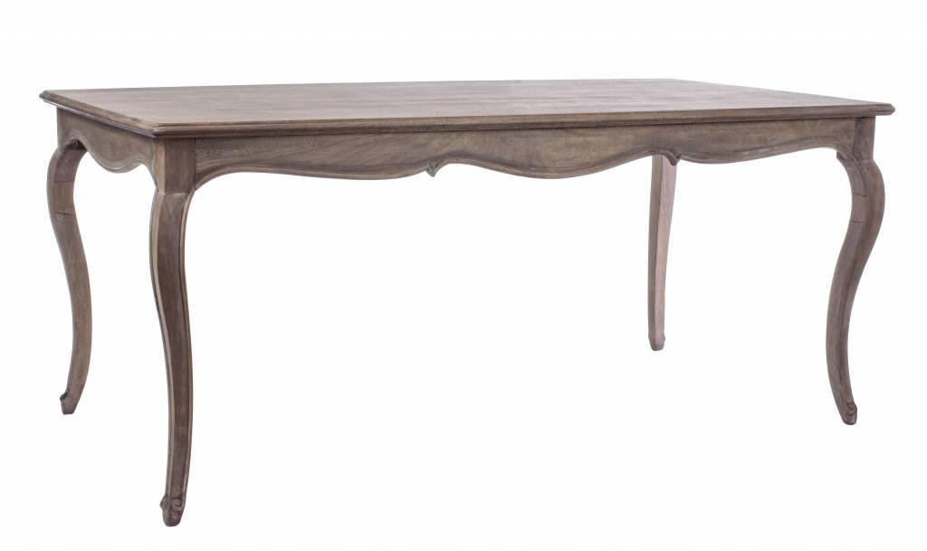 tisch landhausstil malika mangoholz massiv. Black Bedroom Furniture Sets. Home Design Ideas