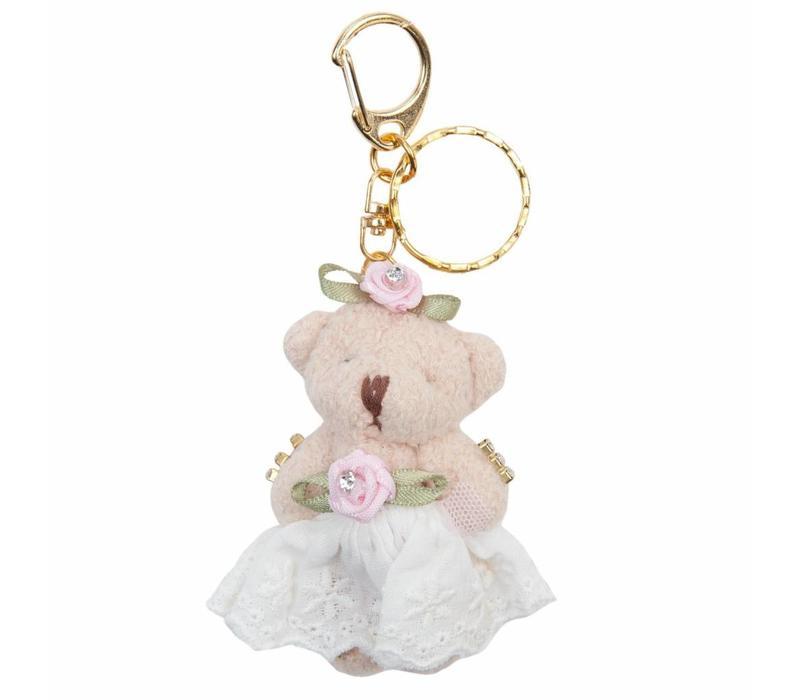 Schlüsselanhänger  | Bär | Rosamunde | Rosa