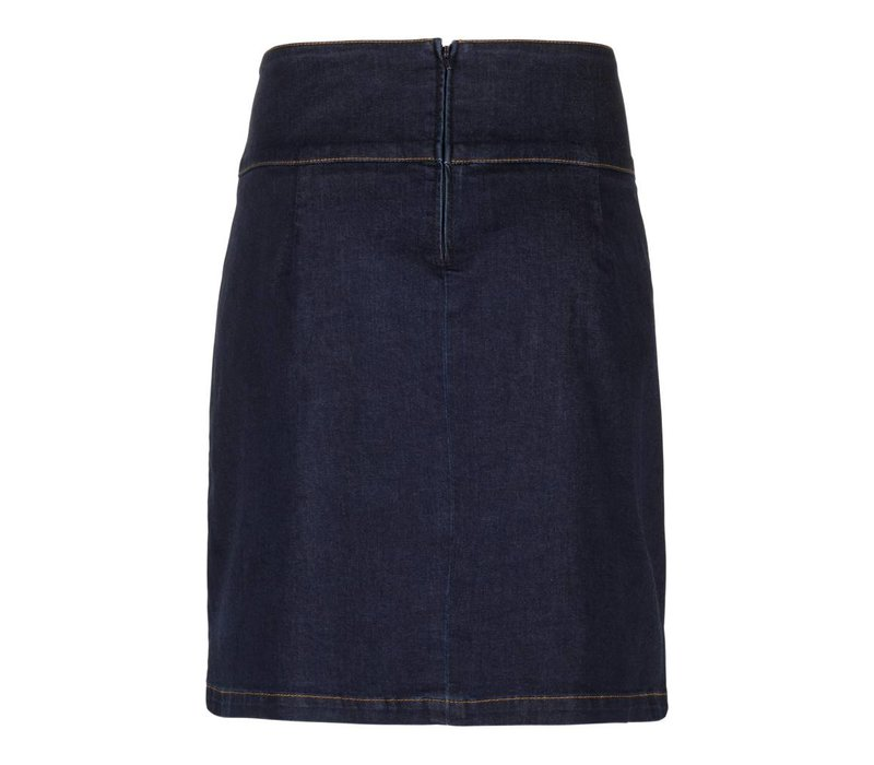 Rock | Olivia Skirt Denim | Ink blue