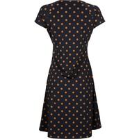 Kleid | Cross Dress Partypolka | Dark Navy