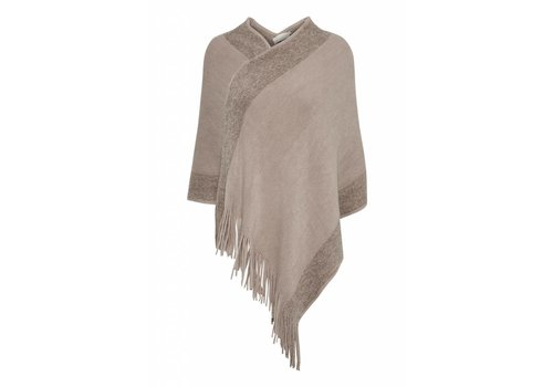 Cream Clothing Poncho | Bianca Poncho | Deep Powder
