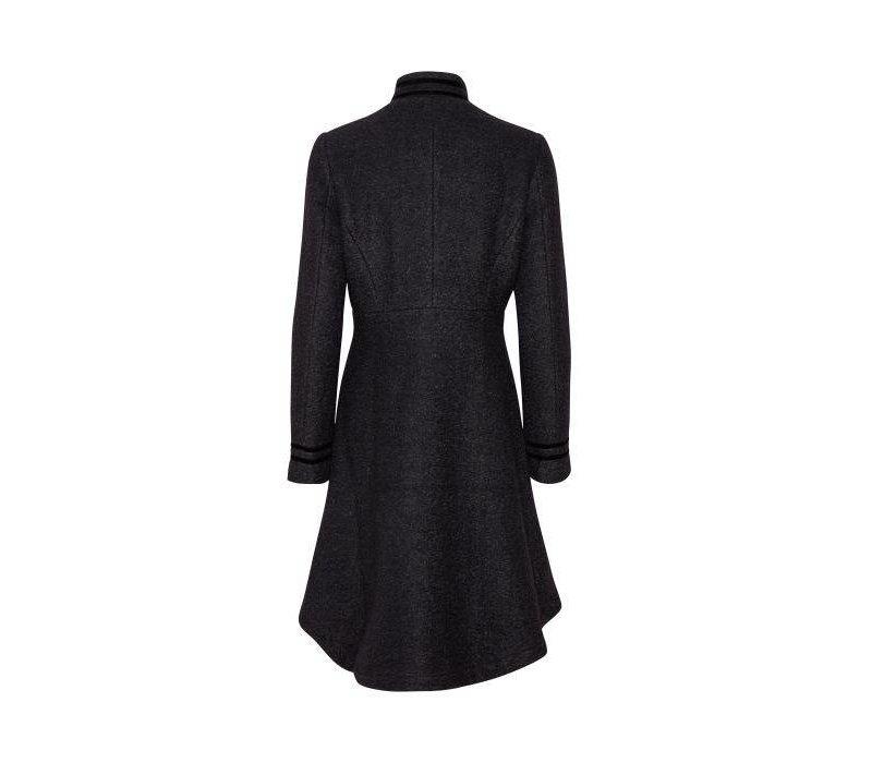 Mantel | Annabell Coat | Black