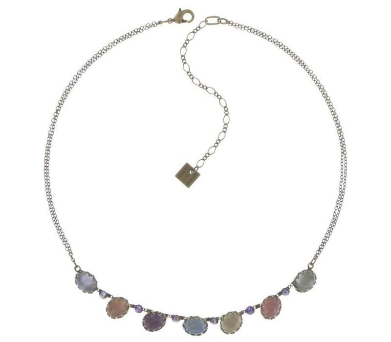 Halskette | Melody Drops | pastel multi