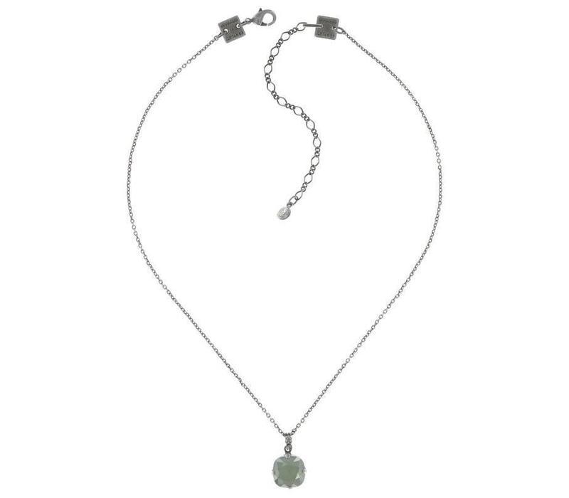 Halskette | Vintage Couture |  pastel multi grey