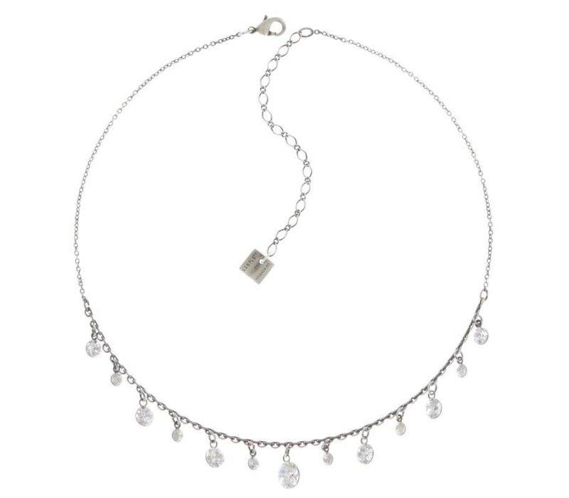 Halskette |  Dangling Tutui | white shine