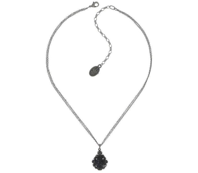 Halskette | Ballroom | black
