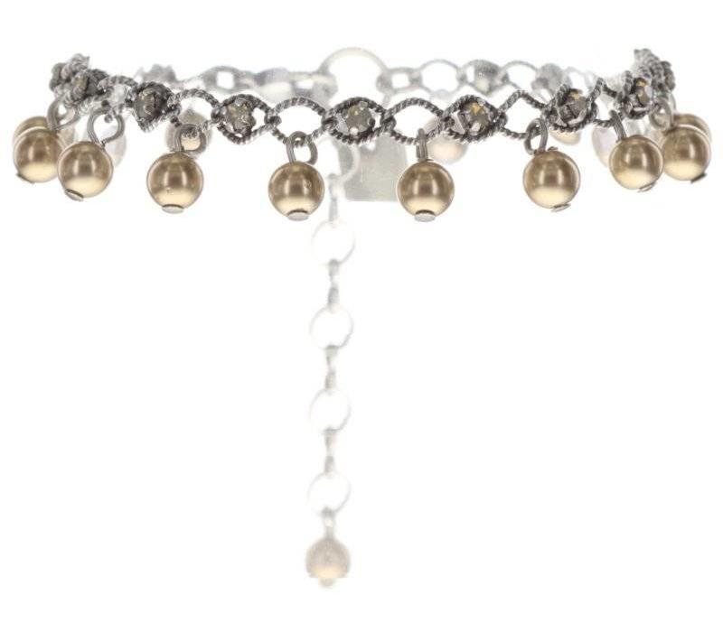 Armband | Dutchess | beige light grey opal
