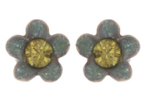 KONPLOTT Ohrstecker | Arsenic in Old Lace | green