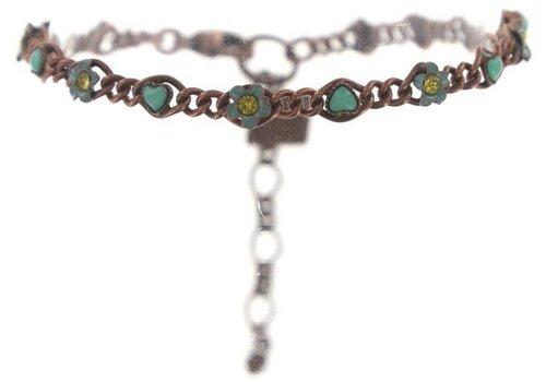 KONPLOTT Armband | Arsenic in Old Lace | green antique