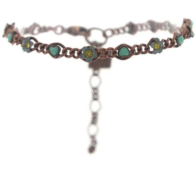 Armband | Arsenic in Old Lace | green antique