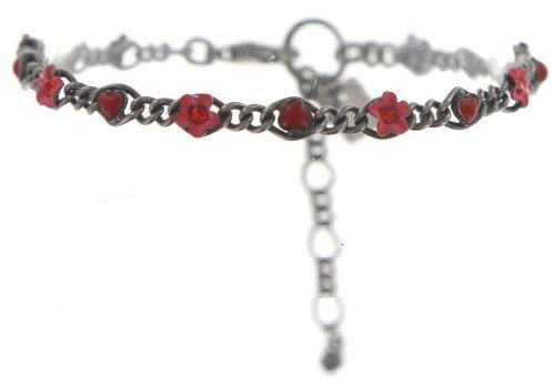 KONPLOTT Armband | Arsenic in Old Lace | coralline/red