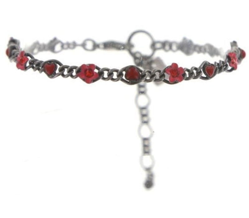Armband   Arsenic in Old Lace   coralline/red