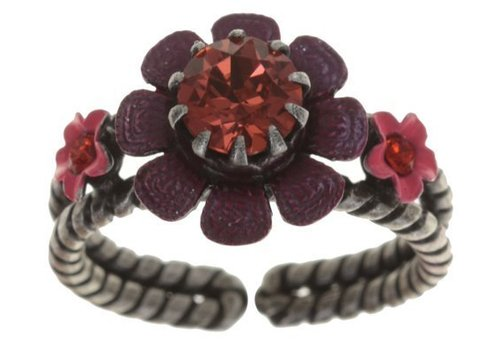KONPLOTT Fingerring | Arsenic in Old Lace | coralline/red