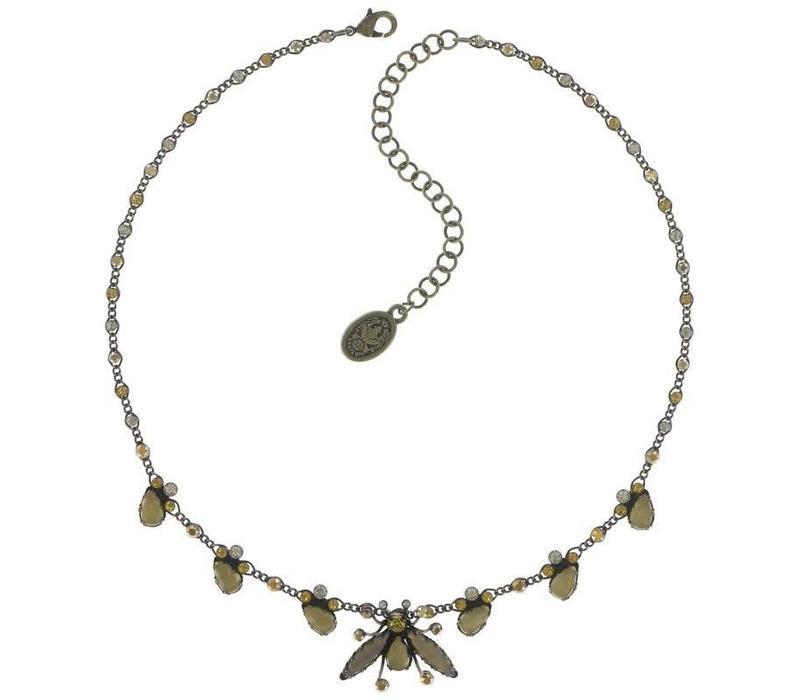 Halskette | Flower Zumzum | yellow medium