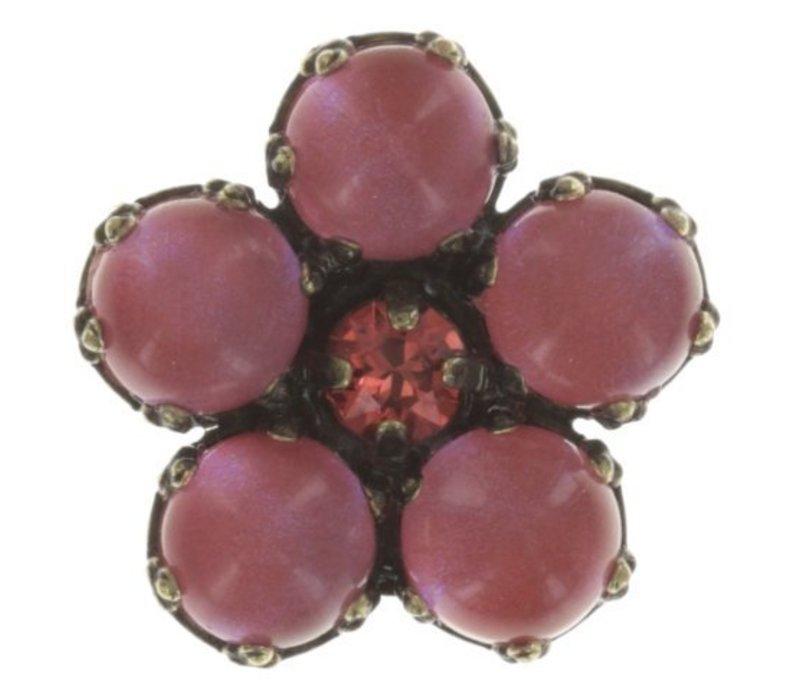 Pin | Flower Zumzum | pink/orange