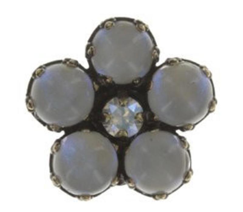Pin | Flower Zumzum | white