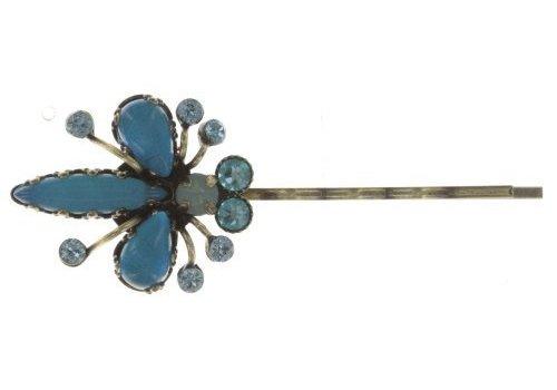 KONPLOTT Haarspange | Flower Zumzum | blue small