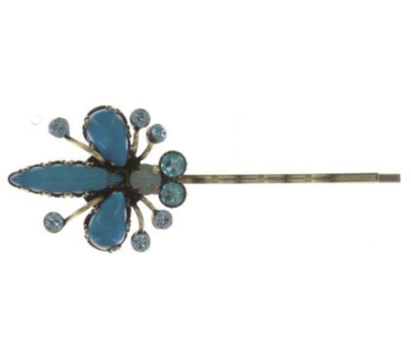 Haarspange | Flower Zumzum | blue small