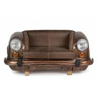 Sofa | Autofront | Leder | braun