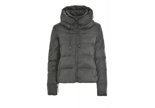 DEHA Daunenjacke | High Neck Down Jacket | Silver Grey