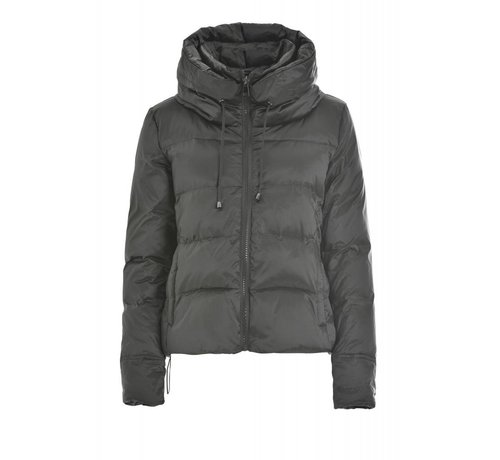 DEHA Daunenjacke | High Neck Down Jacket | Silver Grey