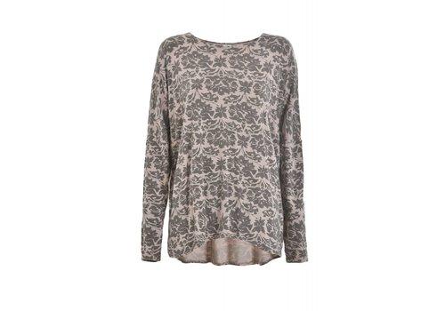 DEHA Shirt | Slouchy Longsleeve | stone