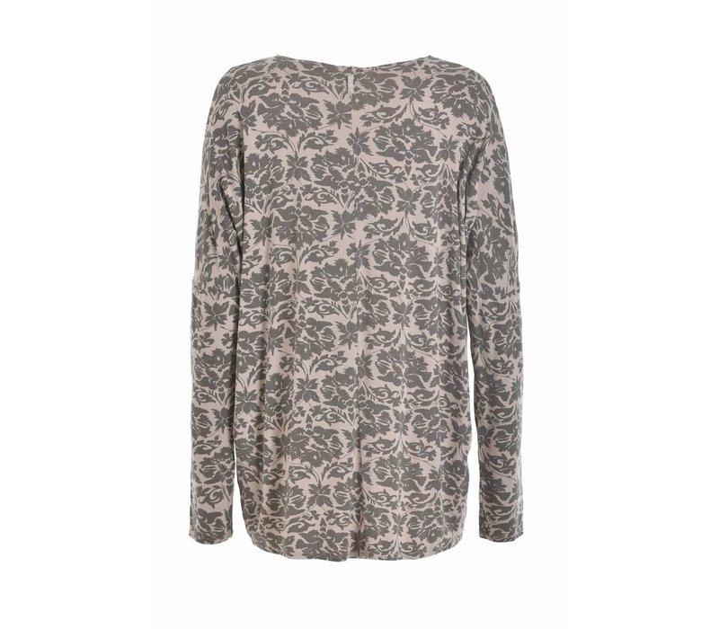 Shirt | Slouchy Longsleeve | stone