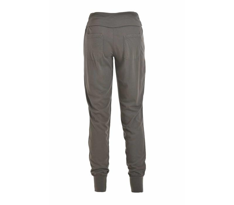 Hose |  Jersey Slouchy Pants | stone