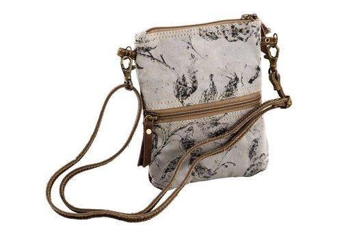 Handtasche | Umhängetasche | Canvas | Leder