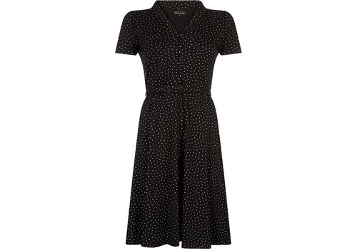 King Louie Kleid | Emmy Dress Little Dots | Black