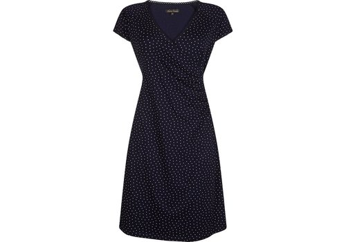 King Louie Kleid | Cross Dress Little Dots | Nuit Blue